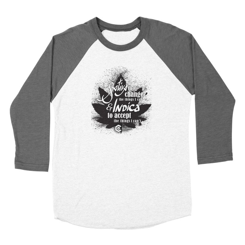 Sativa to change, Indica to accept Women's Longsleeve T-Shirt by The Medical Cannabis Community