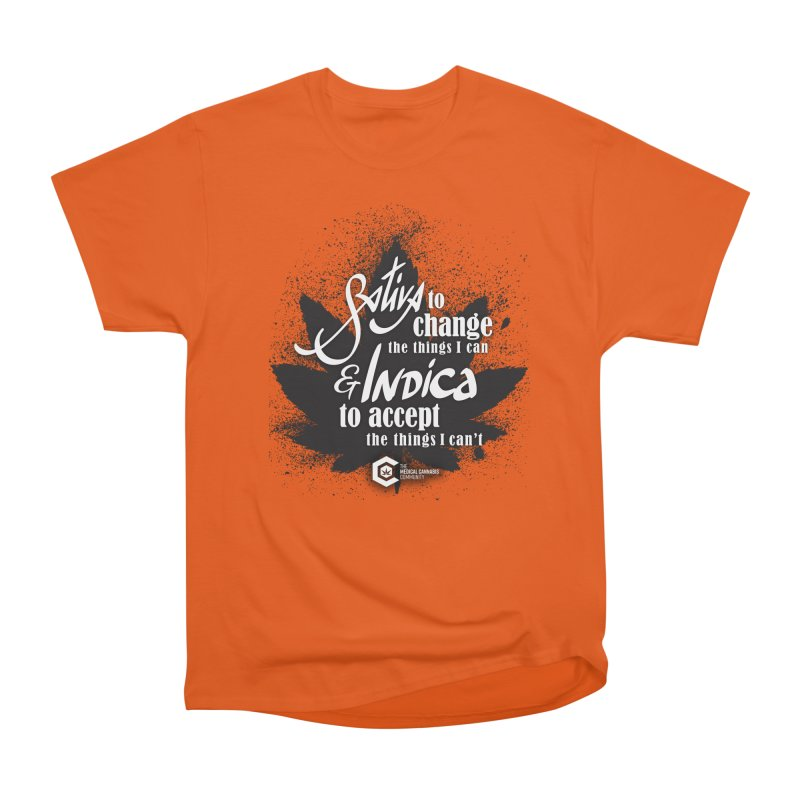 Sativa to change, Indica to accept Women's T-Shirt by The Medical Cannabis Community