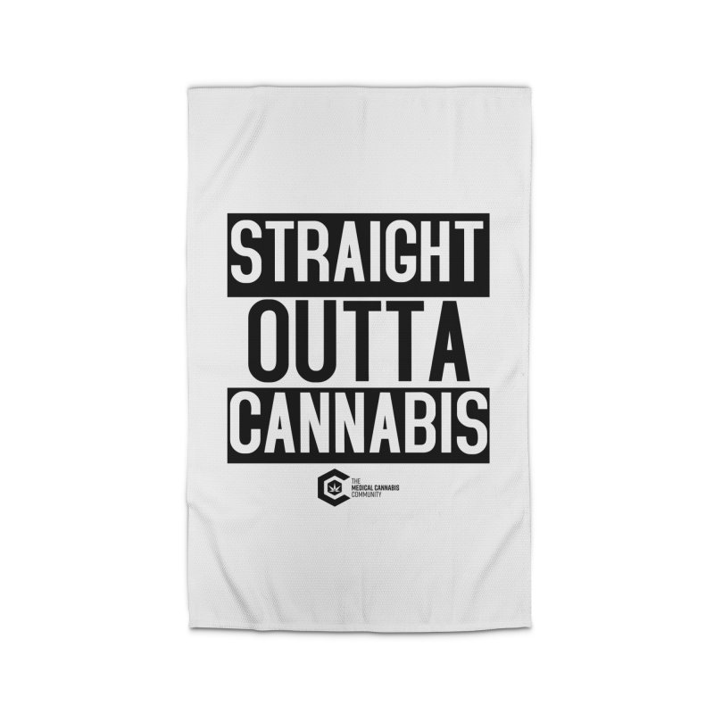 Straight Outta Cannabis Home Rug by The Medical Cannabis Community
