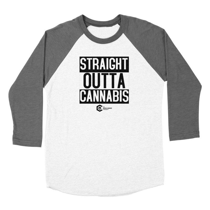 Straight Outta Cannabis Women's Longsleeve T-Shirt by The Medical Cannabis Community