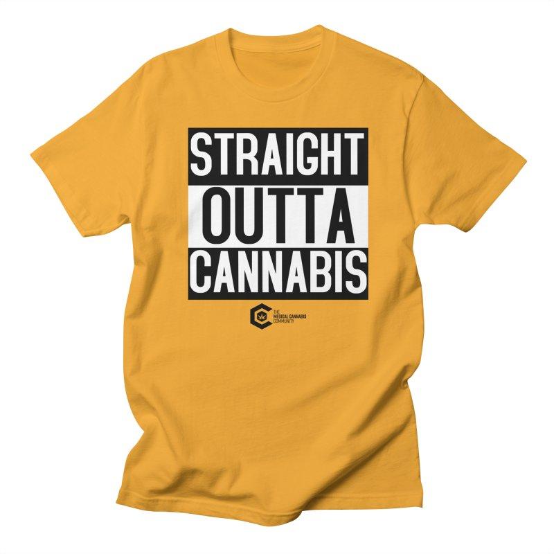 Straight Outta Cannabis Women's Regular Unisex T-Shirt by The Medical Cannabis Community
