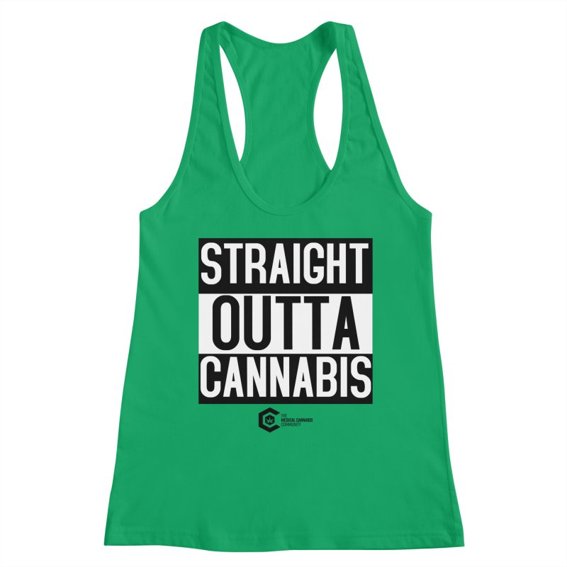 Straight Outta Cannabis Women's Tank by The Medical Cannabis Community