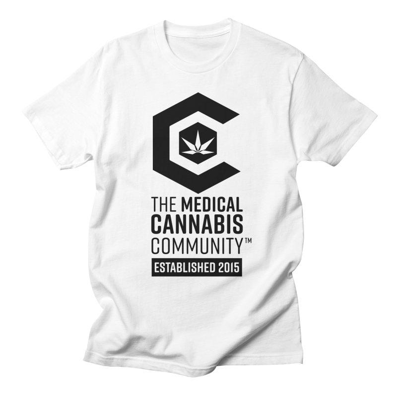 The Medical Cannabis Community Men's T-Shirt by The Medical Cannabis Community