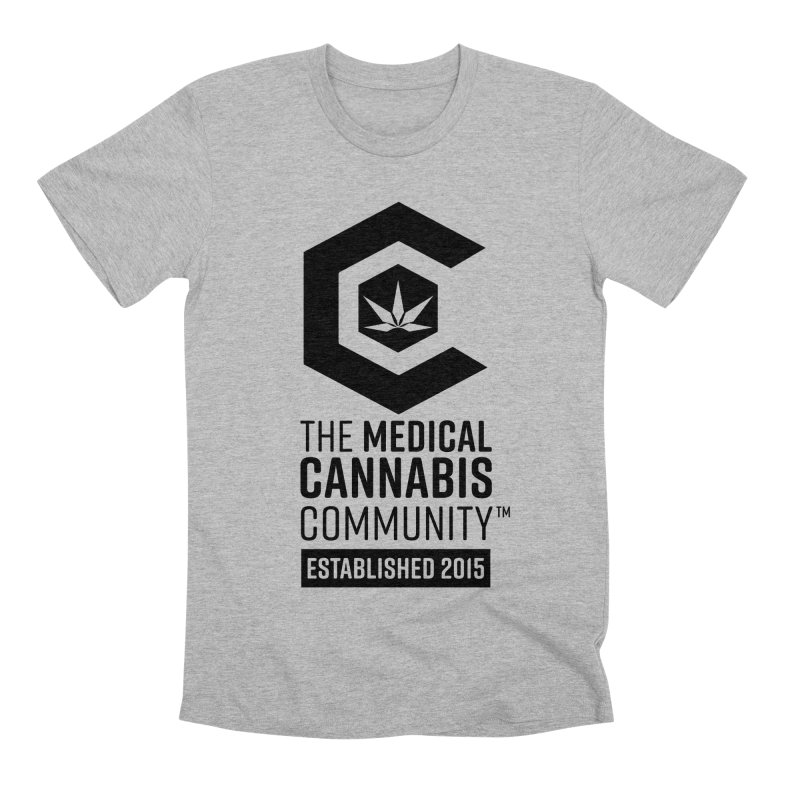 The Medical Cannabis Community Men's Premium T-Shirt by The Medical Cannabis Community