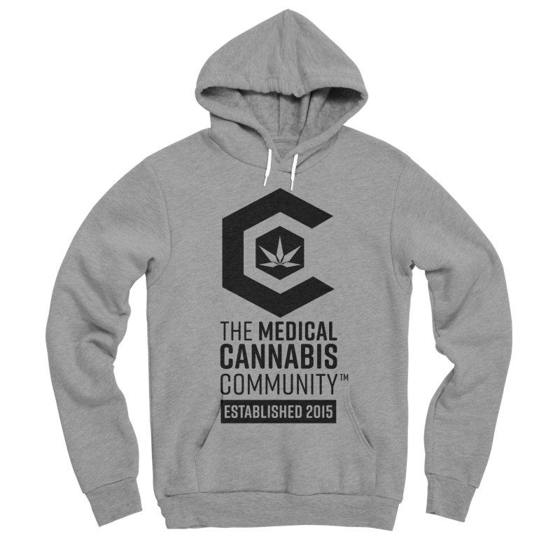 The Medical Cannabis Community Men's Sponge Fleece Pullover Hoody by The Medical Cannabis Community