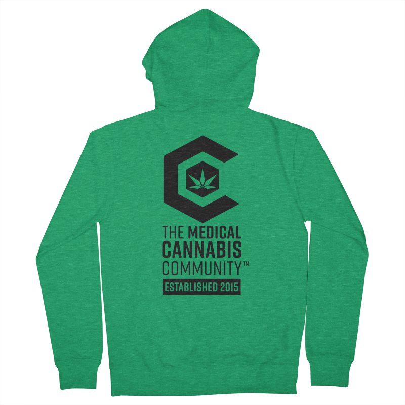 The Medical Cannabis Community Men's Zip-Up Hoody by The Medical Cannabis Community