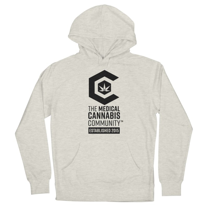 The Medical Cannabis Community Men's Pullover Hoody by The Medical Cannabis Community