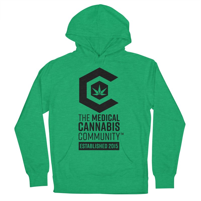 The Medical Cannabis Community Women's French Terry Pullover Hoody by The Medical Cannabis Community