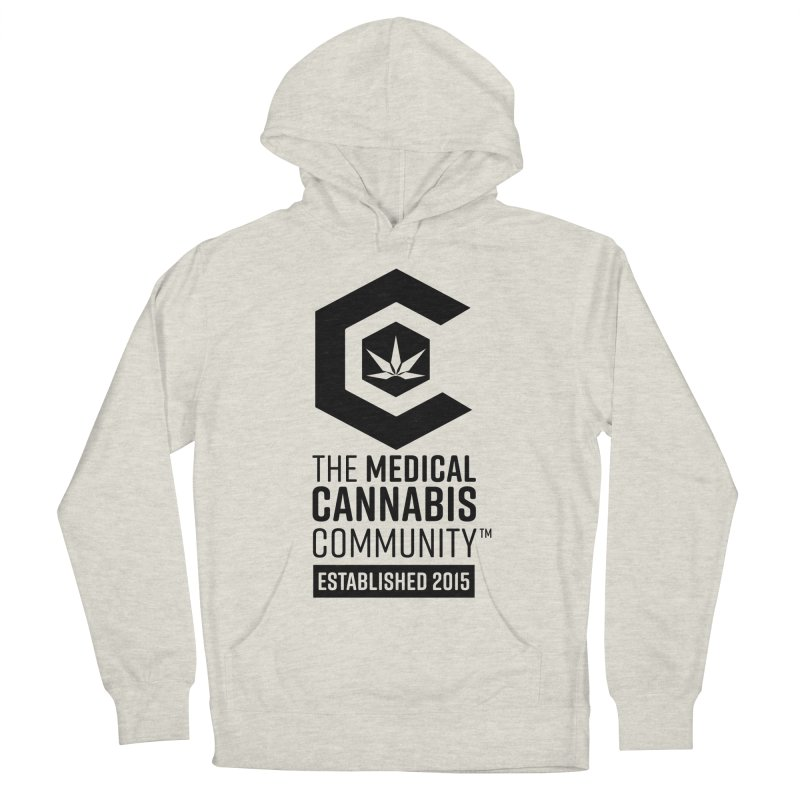 The Medical Cannabis Community Men's French Terry Pullover Hoody by The Medical Cannabis Community
