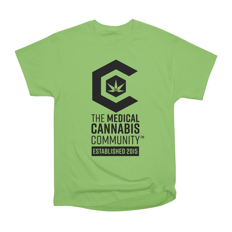 The Medical Cannabis Community Women's Heavyweight Unisex T-Shirt by The Medical Cannabis Community