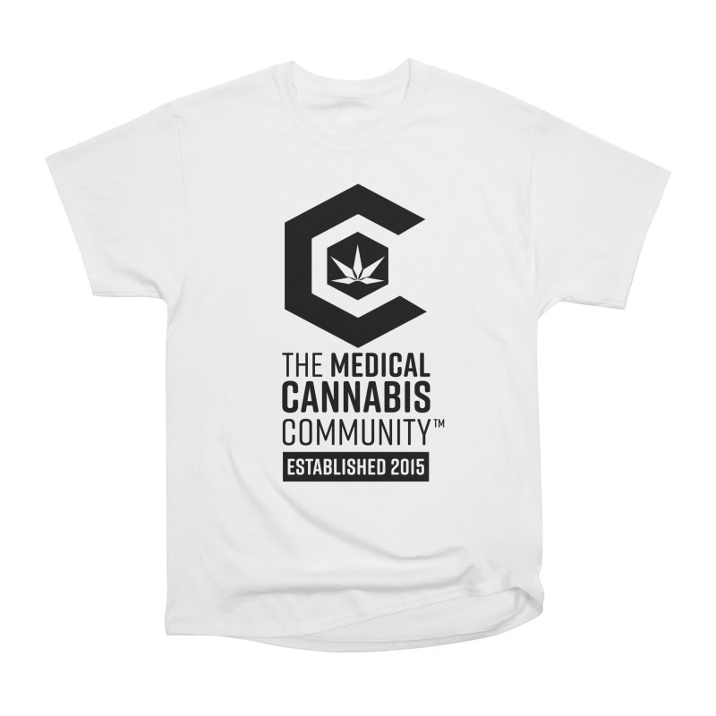 The Medical Cannabis Community Women's Heavyweight Unisex T-Shirt by The Medical Cannabis Community