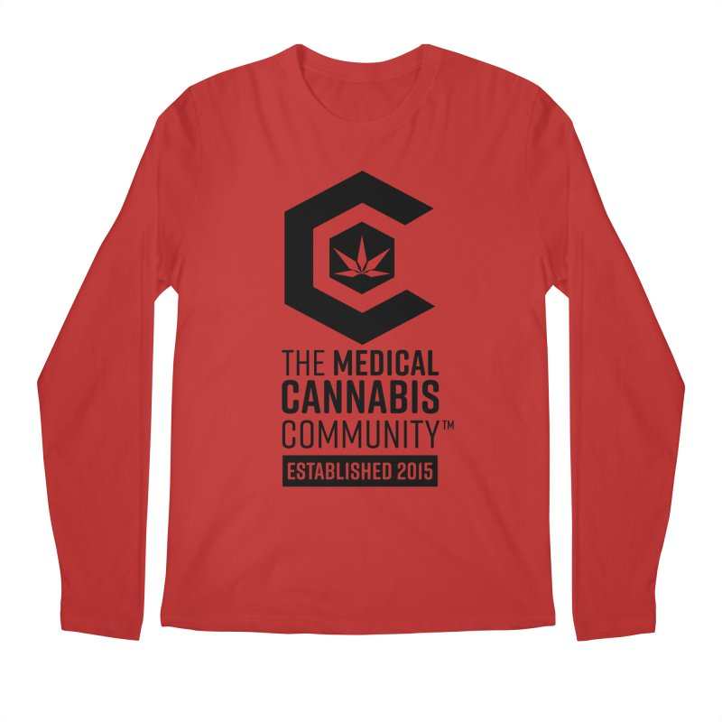 The Medical Cannabis Community Men's Longsleeve T-Shirt by The Medical Cannabis Community