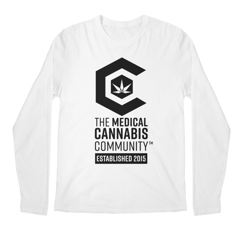 The Medical Cannabis Community Men's Regular Longsleeve T-Shirt by The Medical Cannabis Community