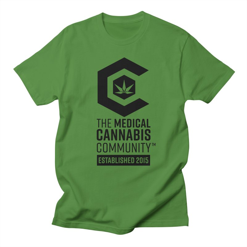The Medical Cannabis Community Men's Regular T-Shirt by The Medical Cannabis Community