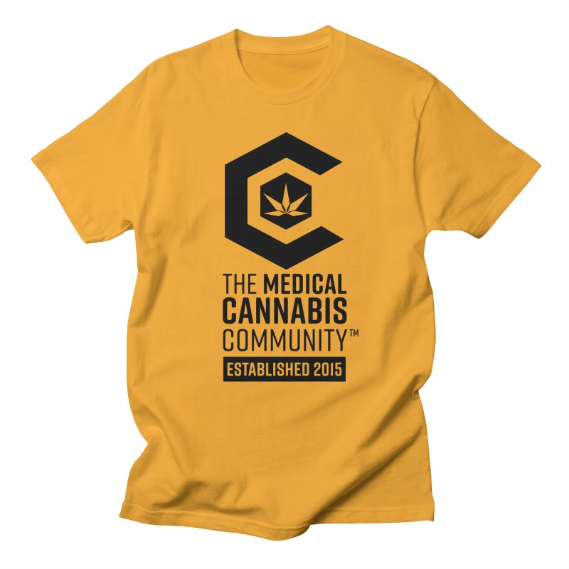 The Medical Cannabis Community Men's T-Shirt by The Medical Cannabis Community