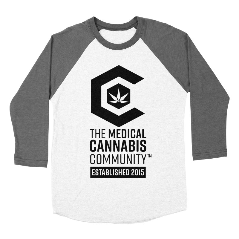 The Medical Cannabis Community Men's Baseball Triblend Longsleeve T-Shirt by The Medical Cannabis Community