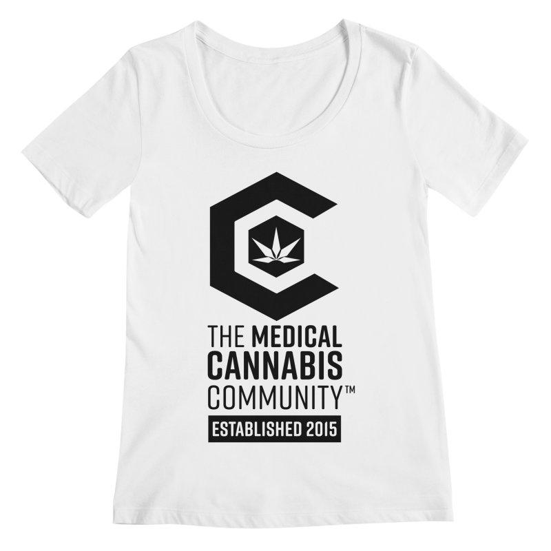 The Medical Cannabis Community Women's Regular Scoop Neck by The Medical Cannabis Community