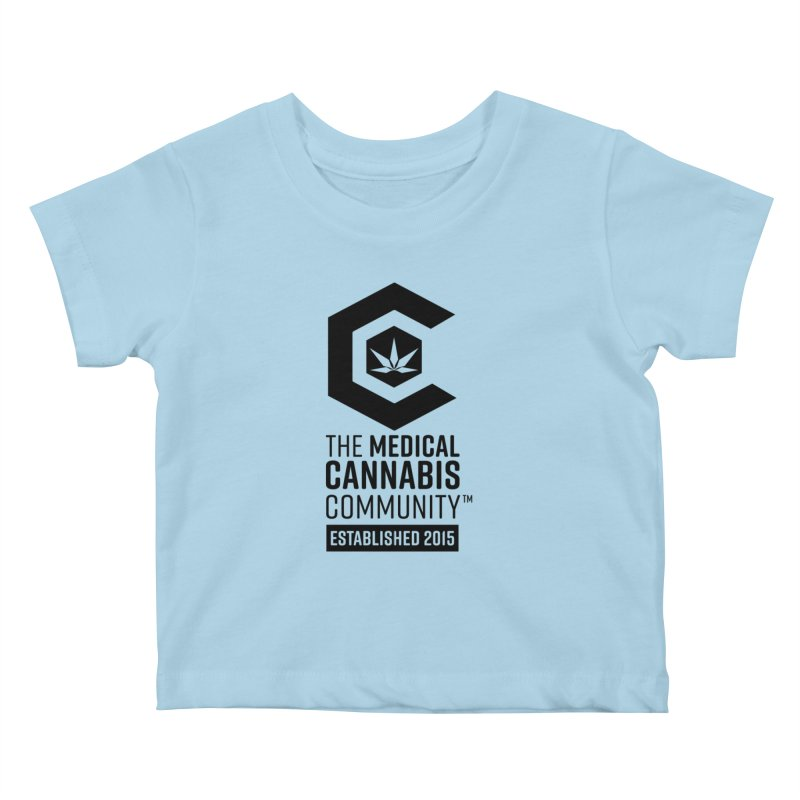 The Medical Cannabis Community Kids Baby T-Shirt by The Medical Cannabis Community