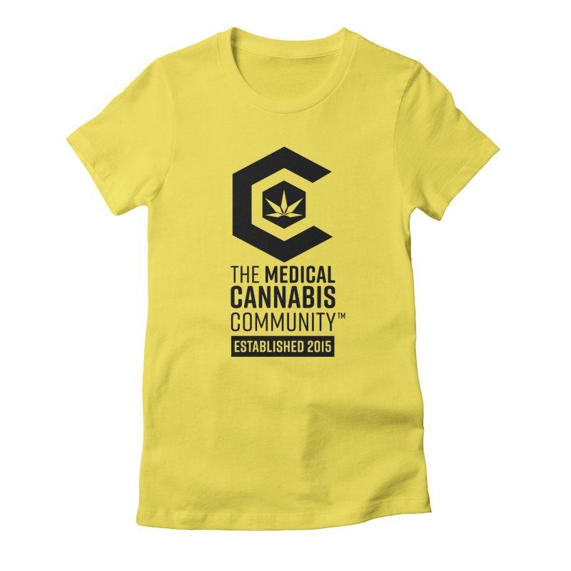 The Medical Cannabis Community Women's T-Shirt by The Medical Cannabis Community
