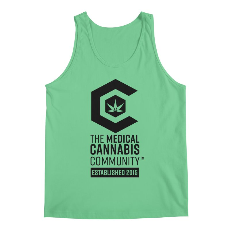 The Medical Cannabis Community Men's Tank by The Medical Cannabis Community