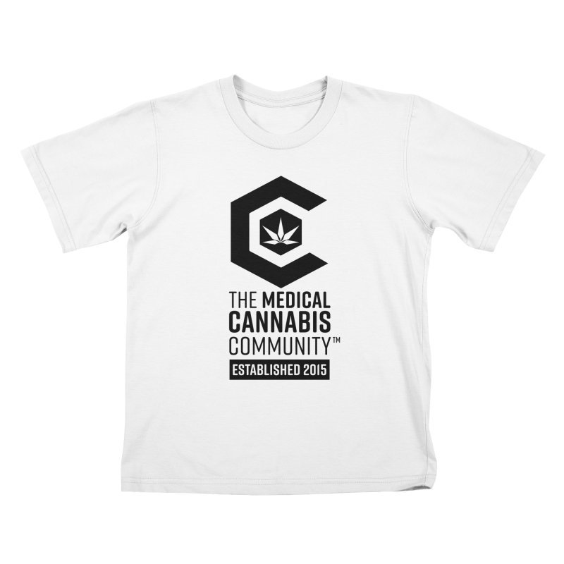 The Medical Cannabis Community Kids T-Shirt by The Medical Cannabis Community