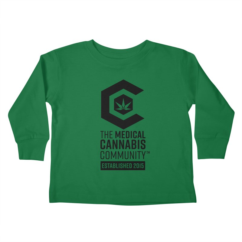 The Medical Cannabis Community Kids Toddler Longsleeve T-Shirt by The Medical Cannabis Community