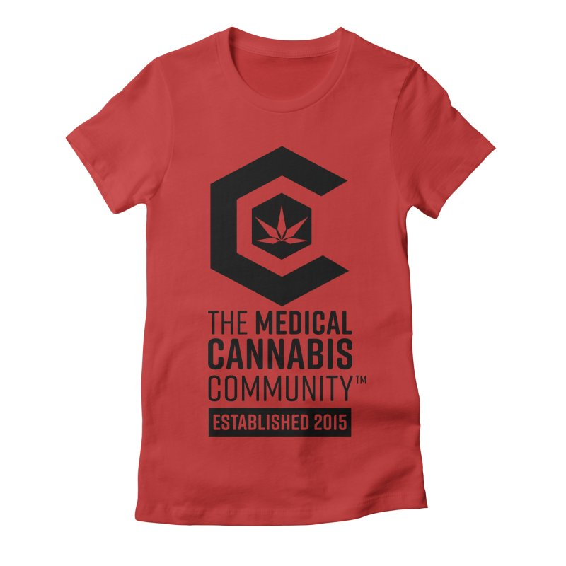 The Medical Cannabis Community Women's Fitted T-Shirt by The Medical Cannabis Community