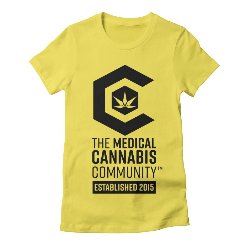 The Medical Cannabis Community Women's T-Shirt by The Medical Cannabis Community