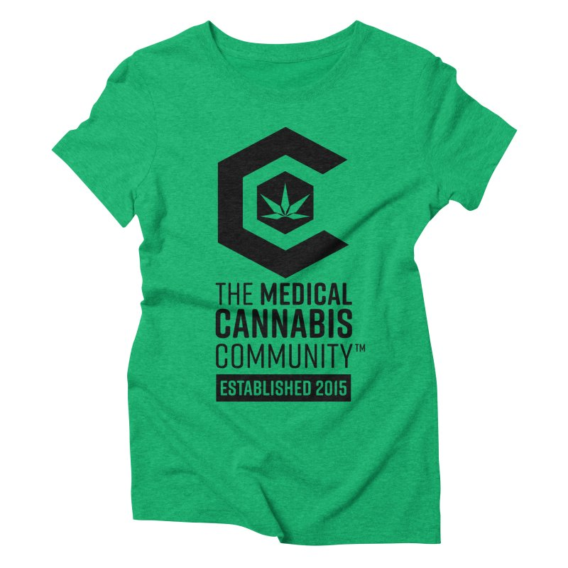 The Medical Cannabis Community Women's Triblend T-Shirt by The Medical Cannabis Community