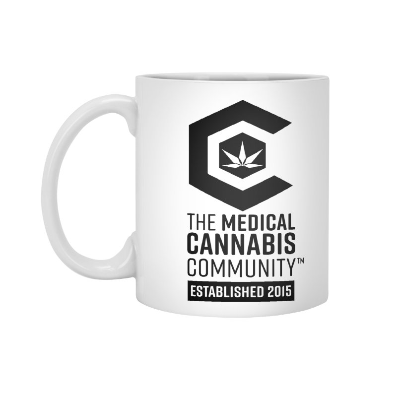 The Medical Cannabis Community Accessories Standard Mug by The Medical Cannabis Community