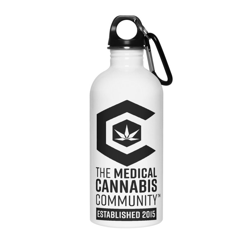 The Medical Cannabis Community Accessories Water Bottle by The Medical Cannabis Community