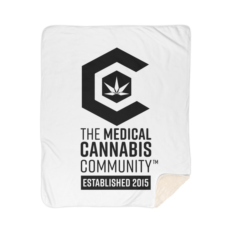 The Medical Cannabis Community Home Sherpa Blanket Blanket by The Medical Cannabis Community