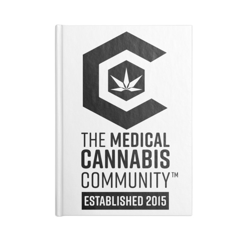 The Medical Cannabis Community Accessories Blank Journal Notebook by The Medical Cannabis Community