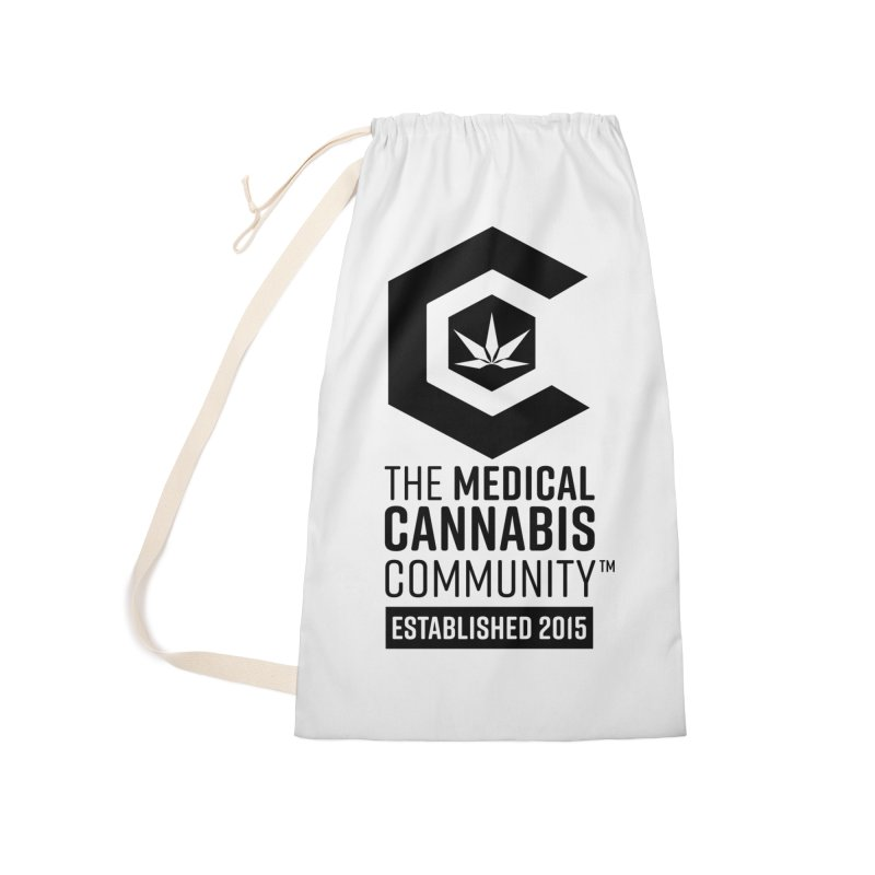 The Medical Cannabis Community Accessories Laundry Bag Bag by The Medical Cannabis Community