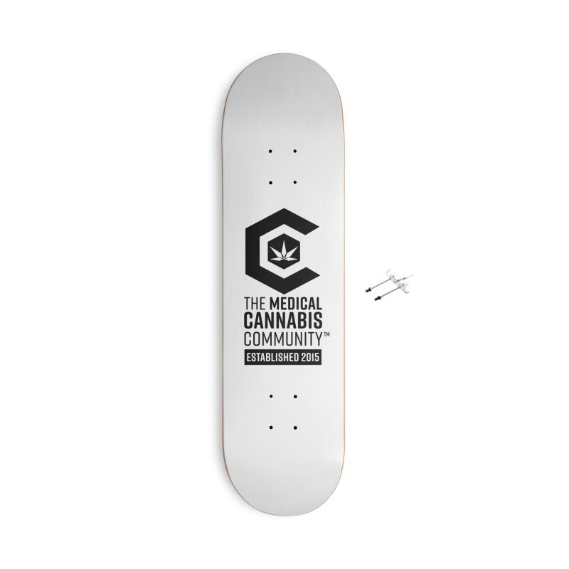 The Medical Cannabis Community Accessories With Hanging Hardware Skateboard by The Medical Cannabis Community