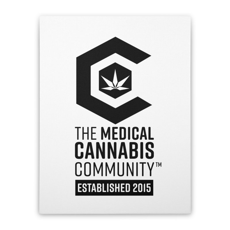 The Medical Cannabis Community Home Stretched Canvas by The Medical Cannabis Community