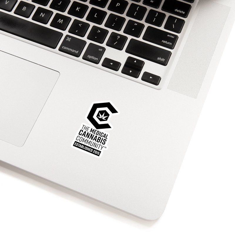 The Medical Cannabis Community Accessories Sticker by The Medical Cannabis Community