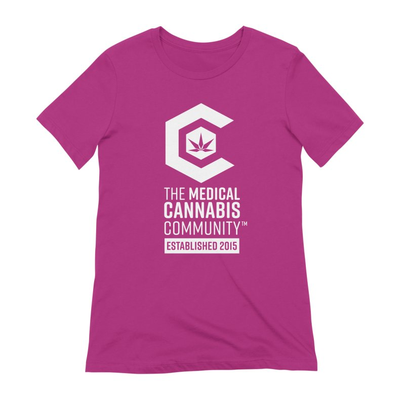 The Medical Cannabis Community Women's Extra Soft T-Shirt by The Medical Cannabis Community
