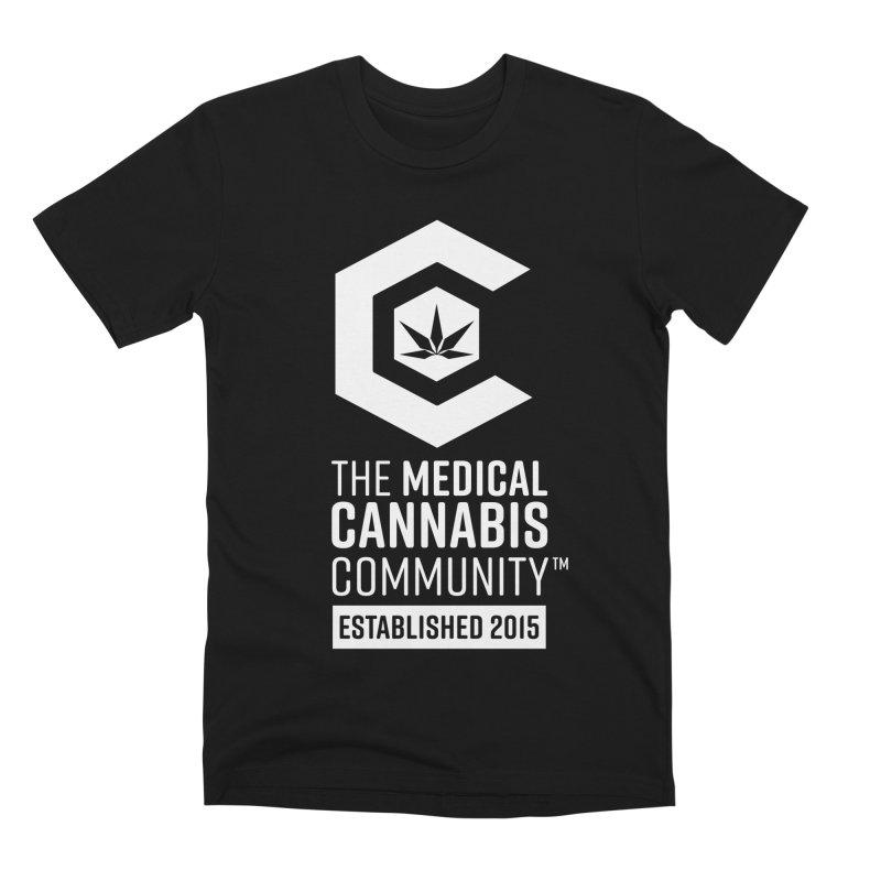 The Medical Cannabis Community Men's Premium T-Shirt by The Medical Cannabis Community