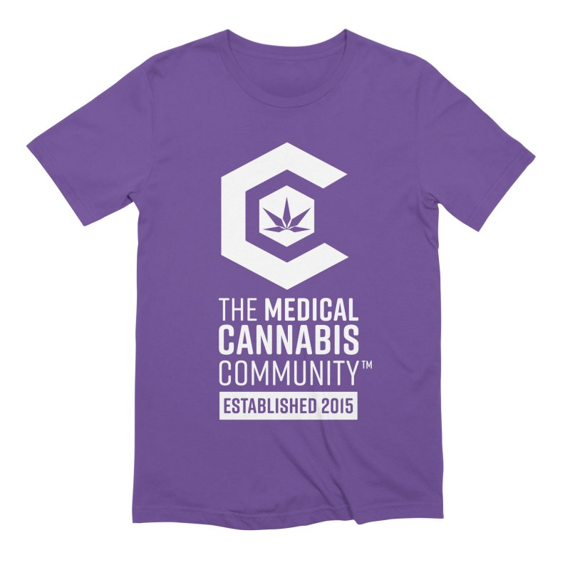 The Medical Cannabis Community Men's Extra Soft T-Shirt by The Medical Cannabis Community
