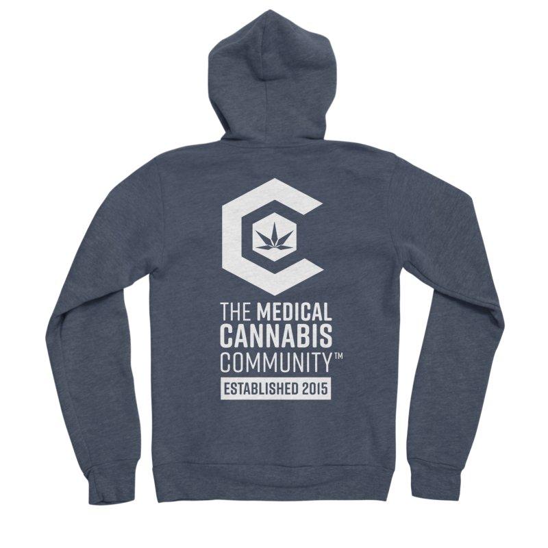The Medical Cannabis Community Men's Sponge Fleece Zip-Up Hoody by The Medical Cannabis Community