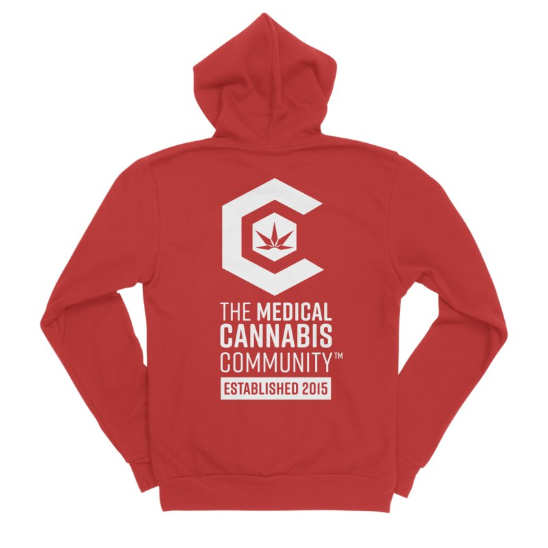 The Medical Cannabis Community Women's Sponge Fleece Zip-Up Hoody by The Medical Cannabis Community