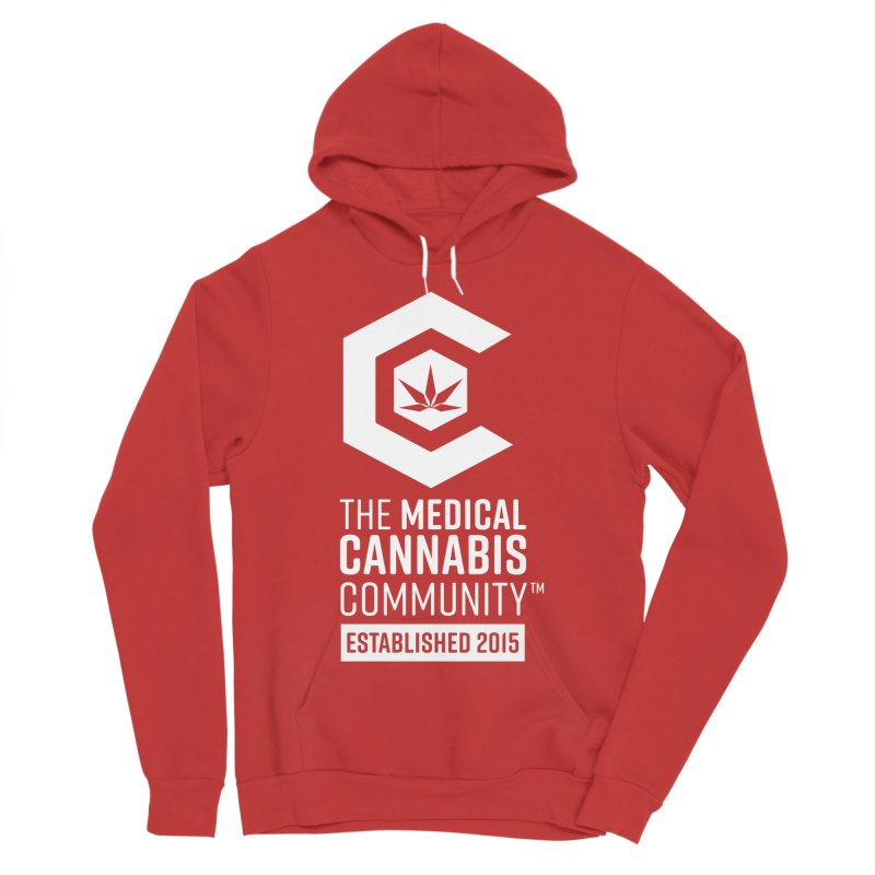 The Medical Cannabis Community Women's Sponge Fleece Pullover Hoody by The Medical Cannabis Community