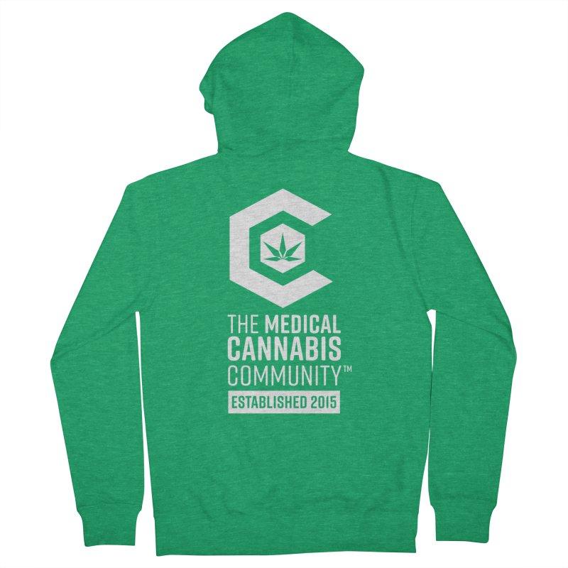 The Medical Cannabis Community Men's Zip-Up Hoody by The Medical Cannabis Community