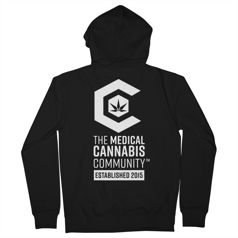 The Medical Cannabis Community Women's French Terry Zip-Up Hoody by The Medical Cannabis Community