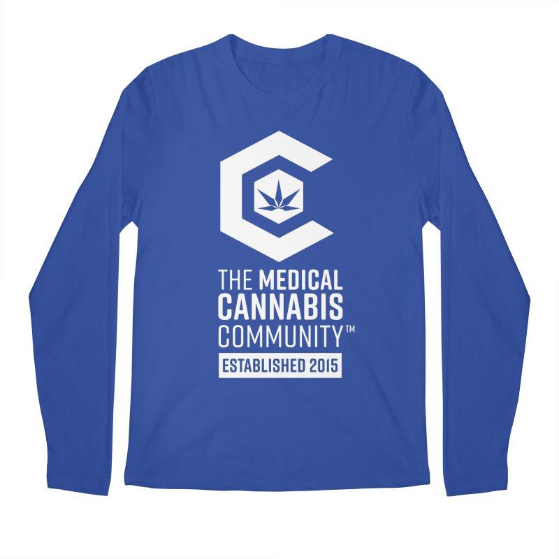 The Medical Cannabis Community Men's Regular Longsleeve T-Shirt by The Medical Cannabis Community