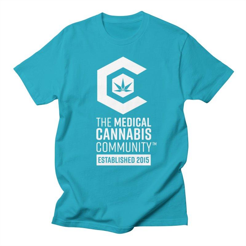 The Medical Cannabis Community Men's Regular T-Shirt by The Medical Cannabis Community