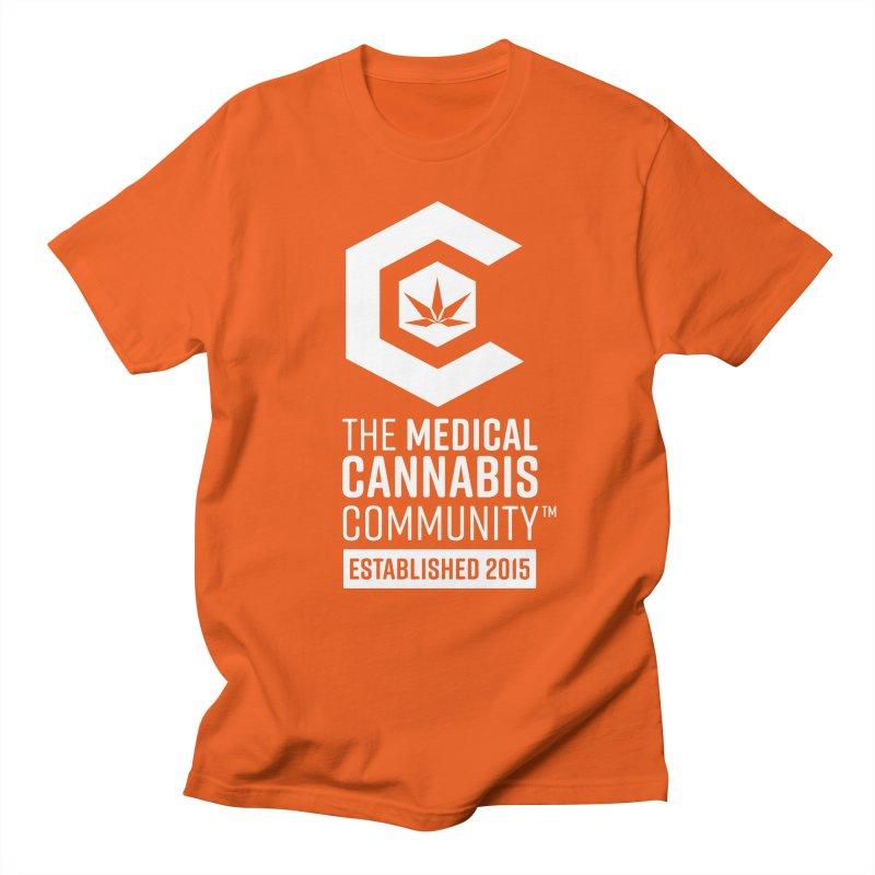 The Medical Cannabis Community Women's Regular Unisex T-Shirt by The Medical Cannabis Community