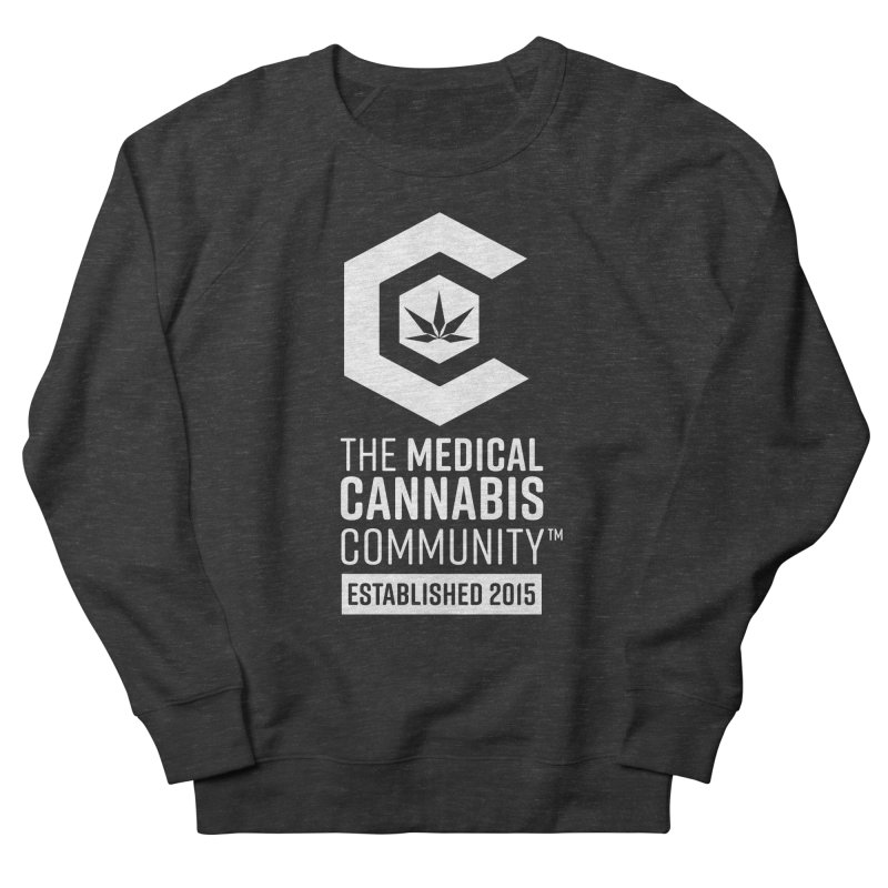 The Medical Cannabis Community Men's French Terry Sweatshirt by The Medical Cannabis Community