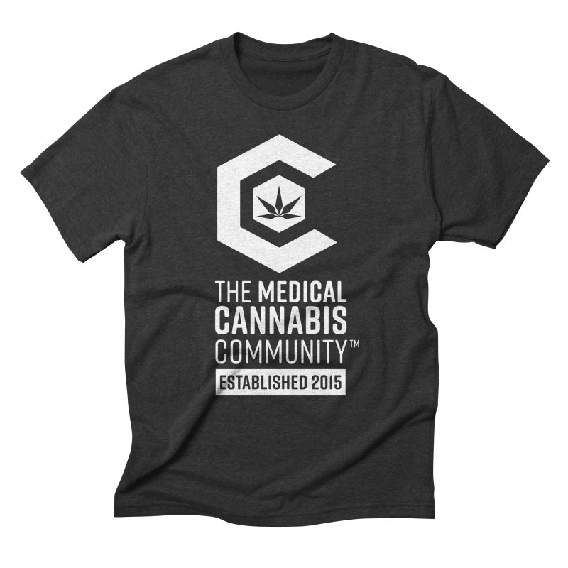 The Medical Cannabis Community Men's Triblend T-Shirt by The Medical Cannabis Community